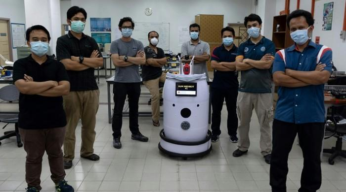Malaysian scientists invent 'Medibot' to do rounds in coronavirus hospital wards