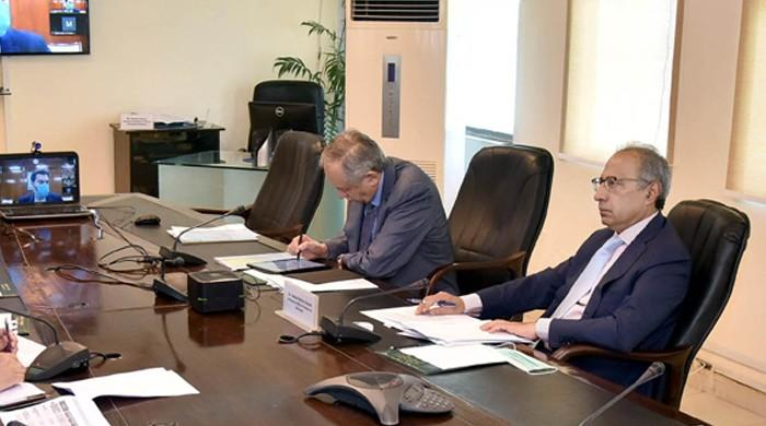 Finance secretary says primary balance has surplus of Rs104 billion for first time in nine months