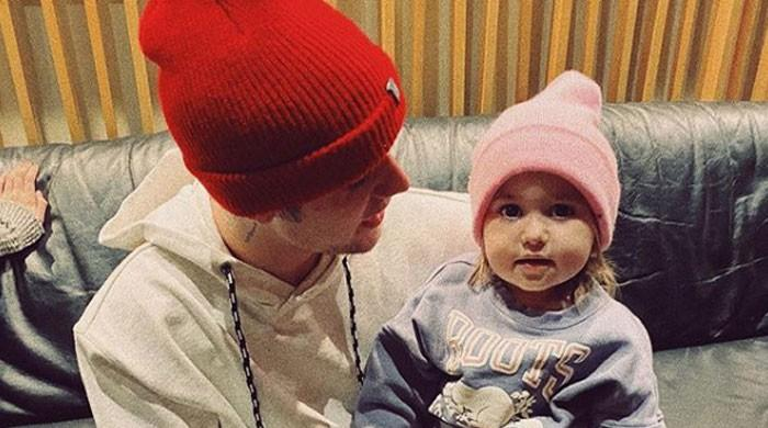 Justin Bieber shares cute video of baby sister playing with Hailey - The News International