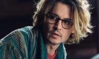 Johnny Depp shows off his art skills
