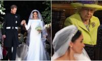Why Queen Elizabeth found Meghan Markle's wedding dress 'objectionable'