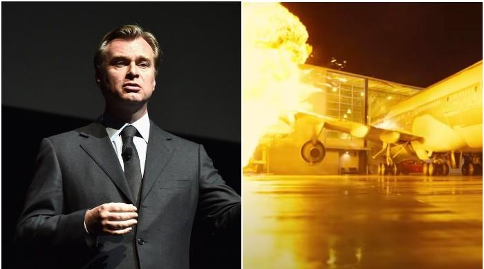 Christopher Nolan crashed an actual airplane for his upcoming film 'Tenet'
