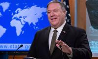 Pompeo says can't justify waivers for nations in Iran nuclear deal