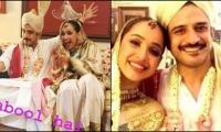 Wedding bells ring for Faryal Mehmood, Daniyal Raheal as they get hitched