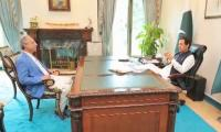 Hafeez Shaikh calls on PM Imran, discusses upcoming budget