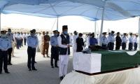 PAF officer who lost his life in PIA plane crash laid to rest