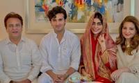 Sadaf Kanwal and Shahroz Sabzwari get hitched