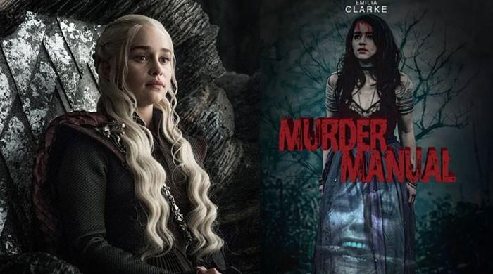 'Game of Thrones' star Emilia Clarke enthralls fans in new horror 'Murder Manual'