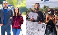 Ben Affleck and Ana de Armas join Black Lives Matter protest in LA
