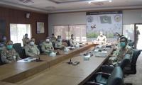 Gen Bajwa praises locust control centre's work, assures army's support