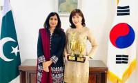 Anna Kim from Pakistan embassy in Korea wins Int'l speech contest