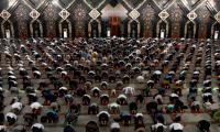 Mosques open in Indonesian capital as coronavirus lockdown eased