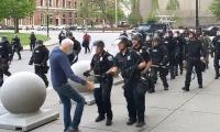 US police officers suspended for mercilessly shoving elderly protester
