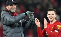 Liverpool's Robertson hails Jurgen Klopp as 'father figure'