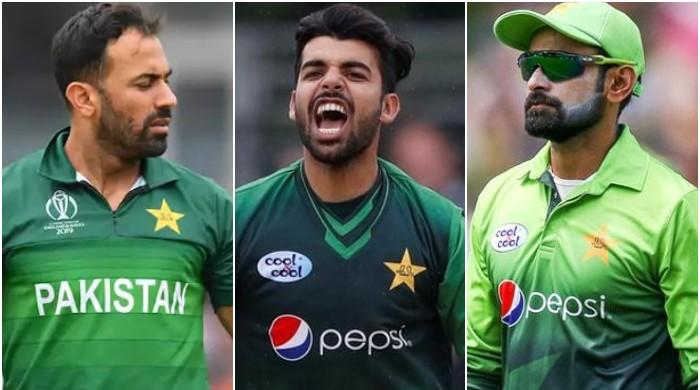 Pakistan Vs England Hafeez Wahab Shadab Among 10 Players Dropped From Pakistan Squad