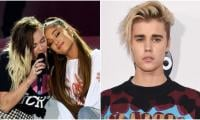 Miley Cyrus and Ariana Grande stopped Justin Bieber from marring his image
