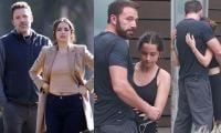 Ben Affleck and Ana de Armas share warm embrace, stun in black workout gear