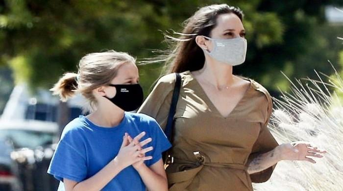 Angelina Jolie seen out and about once again with daughter Vivienne in LA - The News International