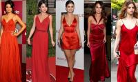 Selena Gomez shows how to sizzle in red