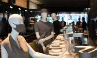 Montreal chic cafe employs fashion for social distancing plus charity