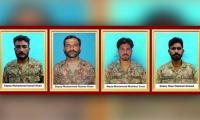 Four terrorists killed, four personnel martyred in North Waziristan, says ISPR