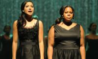 Amber Riley hits out at critics over her silence on Rivera: 'Focus on Naya, not us'