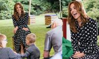 Kate Middleton wows with new hair look and gorgeous designer dress