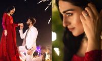 Congratulations in order for Sarah Khan as she gets engaged to singer Falak Shabir