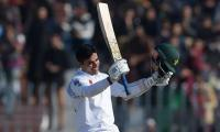 Opener Abid Ali cleared of concussion after blow to helmet