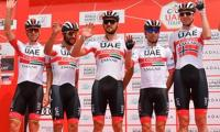UAE Team Emirates withdraws three cyclists from Spain's race due to new virus scare