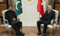 Turkey President Erdogan, PM Imran exchange Eid greetings, discuss 'key issues'