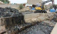 NDMA starts working on cleaning Karachi's nullahs