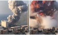 Beirut explosion: Dozens injured as blasts rock port, sending huge plumes into sky