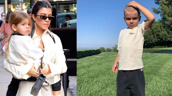 Kourtney Kardashian not ok after son Reign shaves his head - The News International