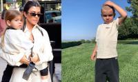 Kourtney Kardashian 'not ok' after son Reign shaves his head
