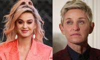 Katy Perry receives flak for throwing her support to Ellen DeGeneres