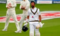 Shan Masood's classy ton takes Pakistan to 326 all out against England