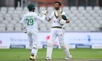 Shan Masood's marathon century puts Pakistan on top in first Test