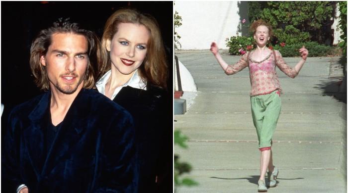 Nicole Kidmans pure joy caught on camera after she divorced Tom Cruise - The News International