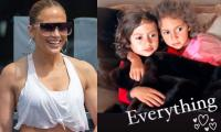 Jennifer Lopez shares unseen throwback photo of her twins Emme and Max