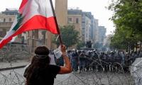 Beirut protesters led by ex-army officers take over foreign ministry