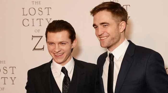 Poster for Netflix movie starring Spider-Man actor Tom Holland and Robert Pattinson is out