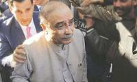 Park Lane reference: Charges framed against Asif Zardari