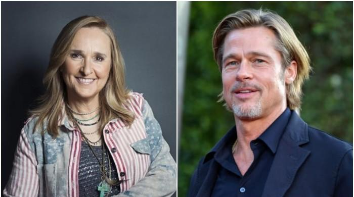 Melissa Etheridge helped Brad Pitt stand on his feet when he only had $325 to his name