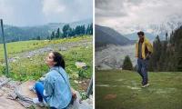 Pakistani stars head to north to 'reset' their mind