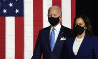 In first public appearance, Biden, Harris vow to 'rebuild' America post-Trump