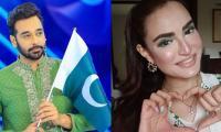Pakistani stars celebrate Independence Day with national enthusiasm