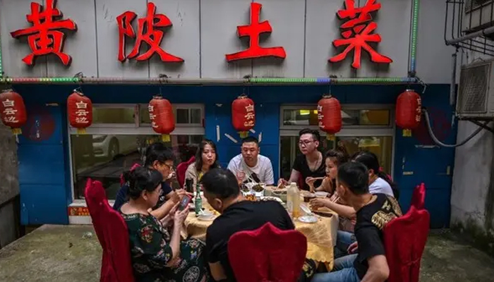 Chinese restaurant apologises for weighing customers during food wastage campaign