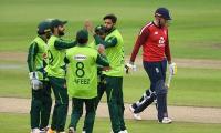 First Pakistan-England T20I: match abandoned due to rain