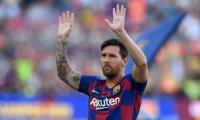 Messi unable to join Barca after failing to attend virus test
